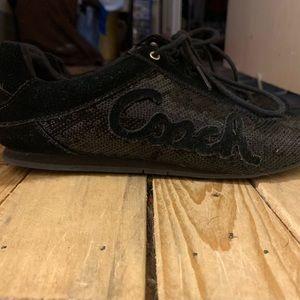 Coach Sequin shoes